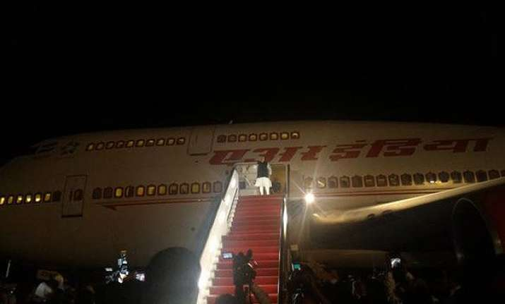 pm modi wraps up central asia tour heads home