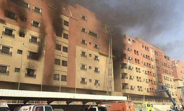 fire at saudi oil company residence kills 11