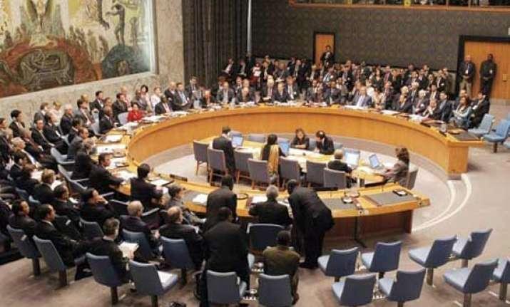 un security council condemns terrorists attacks in iraq
