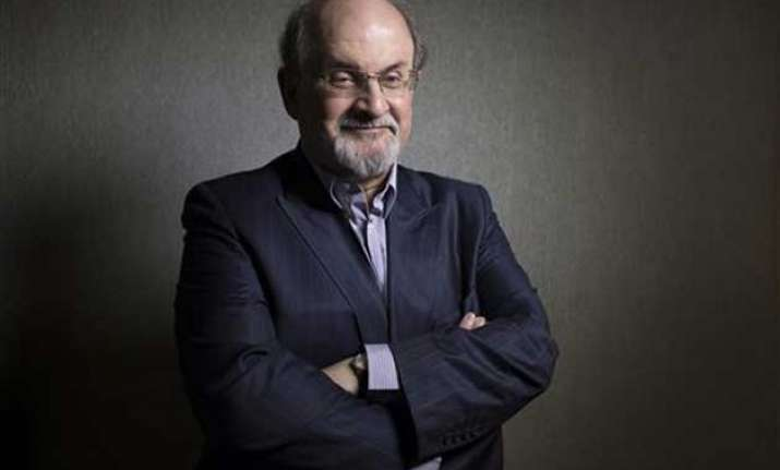 salman rushdie threatened over book defends free speech