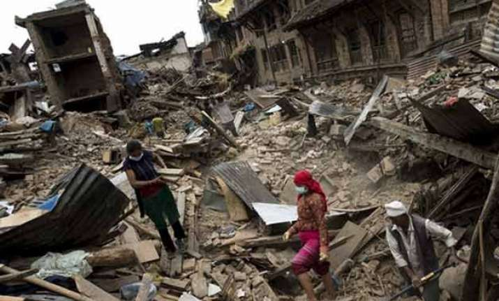 nepal earthquake felt again nothing more left to lose