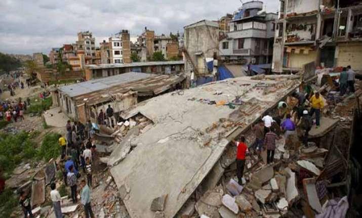 kathmandu valley rose 80 cm after quake shows survey