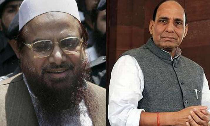 hafiz saeed dismisses rajnath singh s claim over jnu