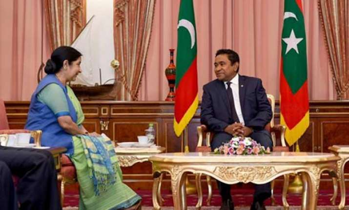 will not tolerate foreign interference maldives to india