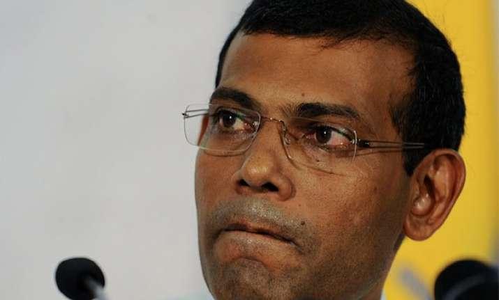 former maldivian president mohamed nasheed s jail term