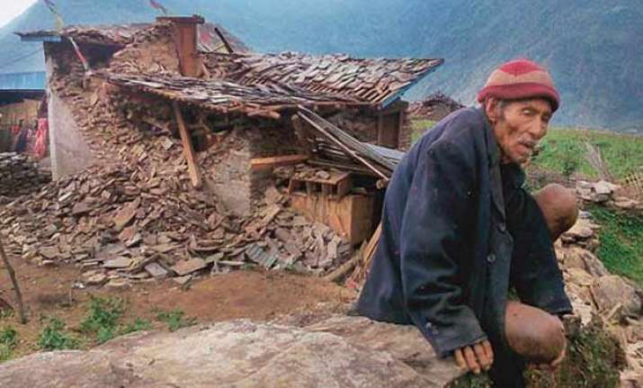 villagers in quake epicentre facing slow death due to total