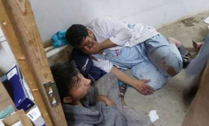 unlike afghanistan little outcry as hospitals bombed in