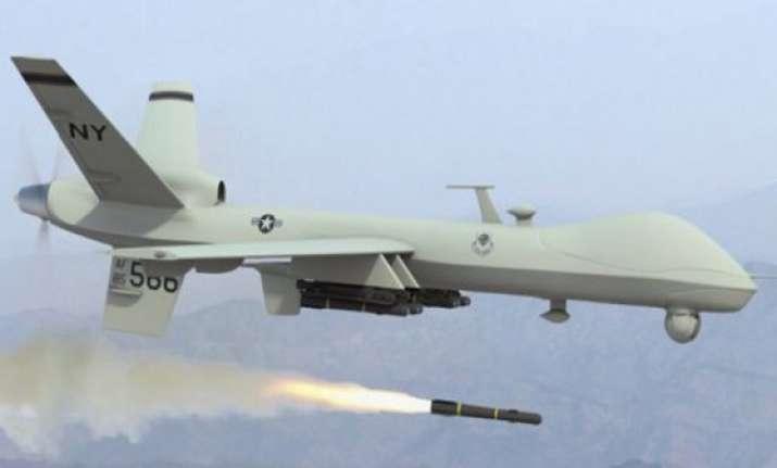 us drone kills four terrorists in pakistan
