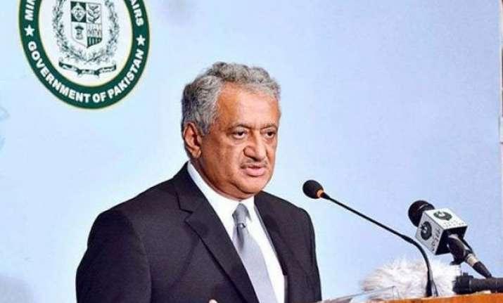 pakistan urges world to take notice of terrorist activities