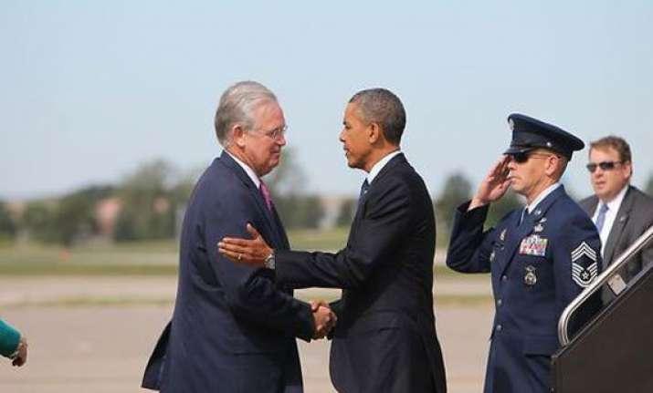 missouri governor briefs barack obama on ferguson