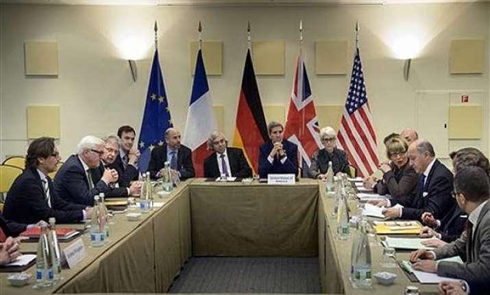 signs of discord at iran nuke talks as deadline looms