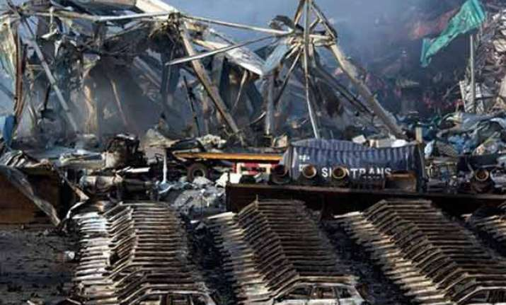 death toll rises to 121 in china s tianjin port explosion