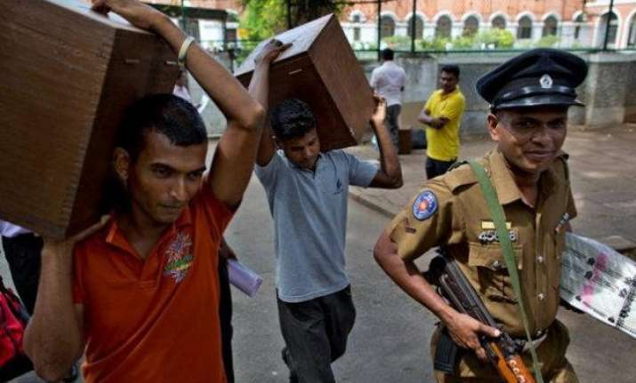 sri lanka goes to polls with tight security in place