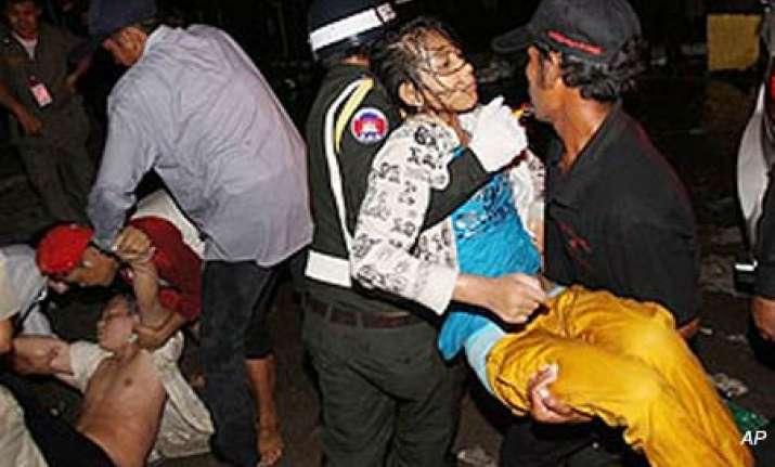at least 378 die in cambodian water festival stampede