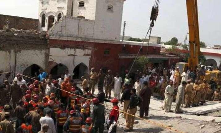 death toll in pakistan s attock suicide attack rises to 20
