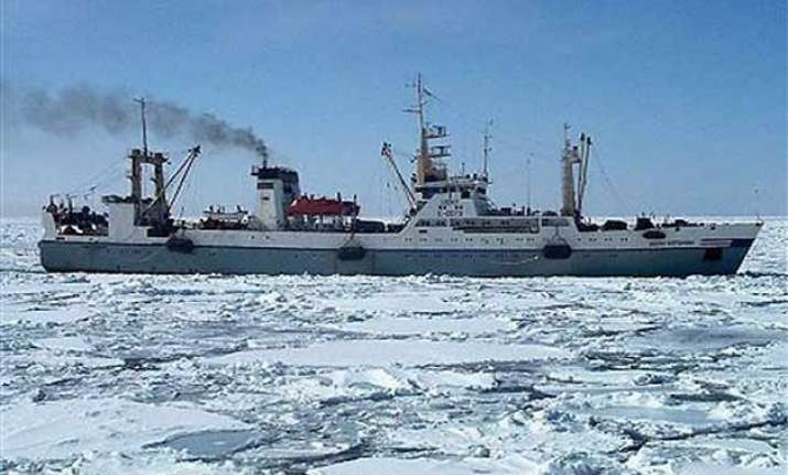 russian trawler sinks quickly in icy water at least 56 dead
