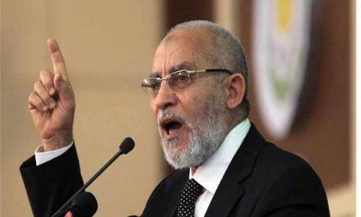 brotherhood leader mohammed badie s death sentence