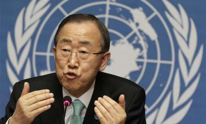 un chief asks india pakistan to resolve their issues