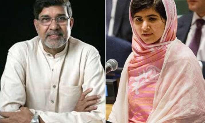india s kailash satyarthi and pakistan s malala yousafzai