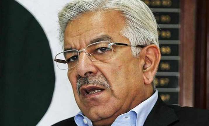 pakistan s defence minister tells india to end blame game
