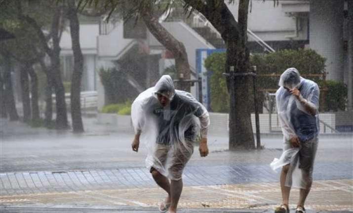 strong typhoon batters japan 35 hurt
