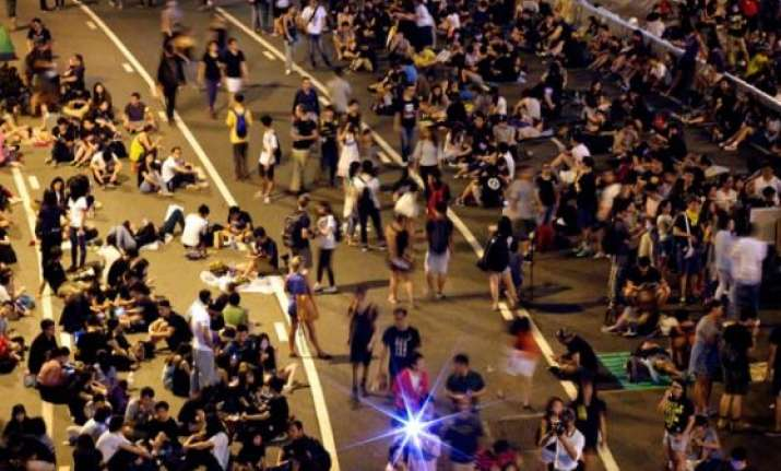 hong kong protesters divided as deadline looms to clear