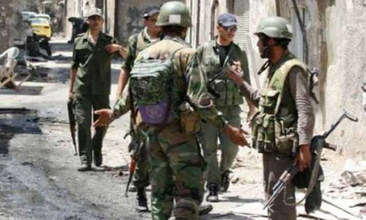 syrian army launches operation kills 60 militants