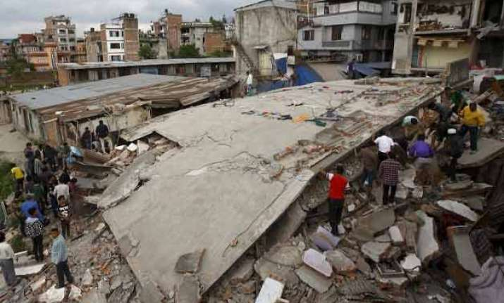 relief operations to kathmandu on hold till 4 pm due to