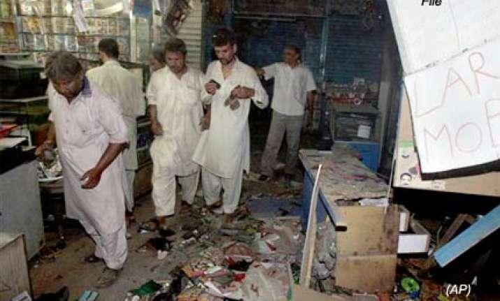 18 killed in lpg blast in pak s hyderabad