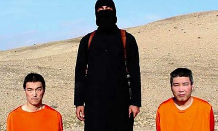 purported is message threatens japan jordan hostages