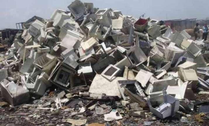 india 5th biggest generator of e waste in 2014 un report