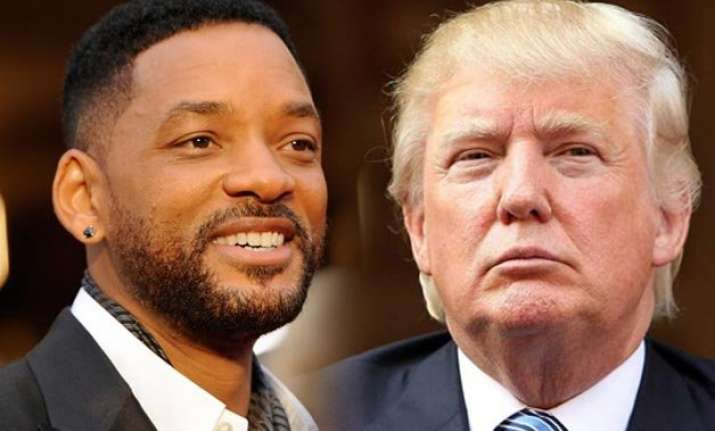 donald trump may force me to run for president will smith
