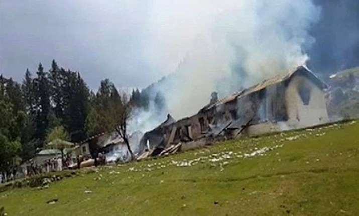 military chopper lost control before crashing pakistan