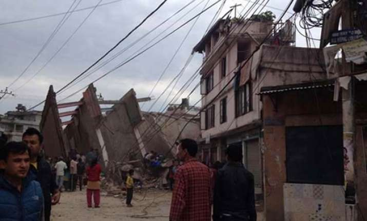 nepal quake see exclusive pictures
