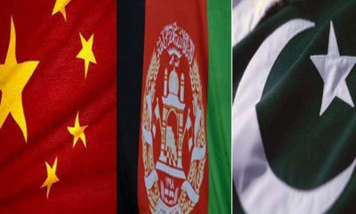 china afghanistan pakistan seek efforts for peace stability