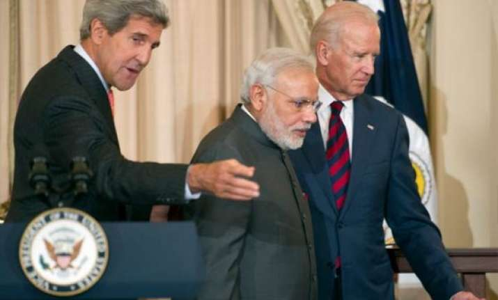 can t match modi s rock star reception in new york kerry