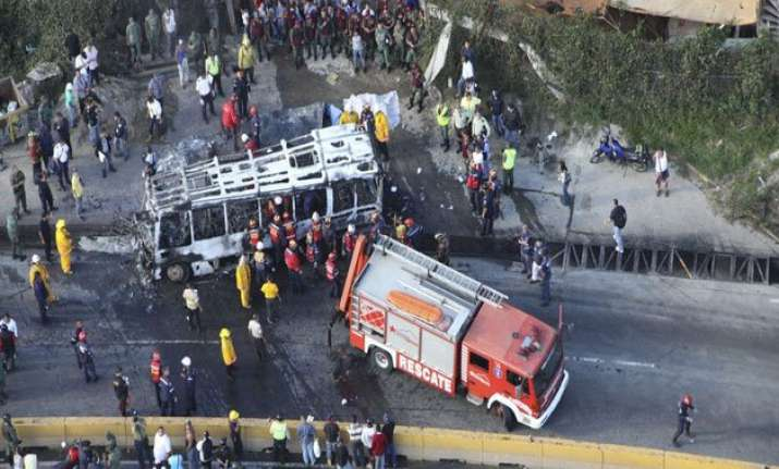 11 killed in venezuela bus accident