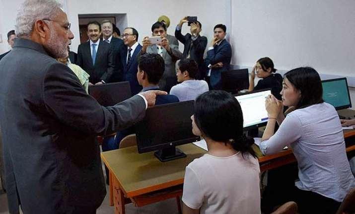 pm modi releases first uzbek hindi dictionary
