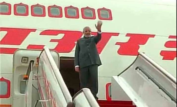 after china visit modi leaves for mongolia