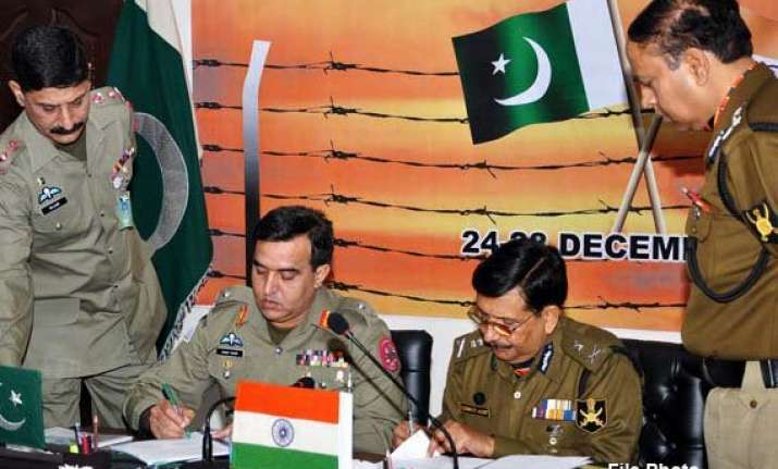india fighting a small scale war with pakistan alleges