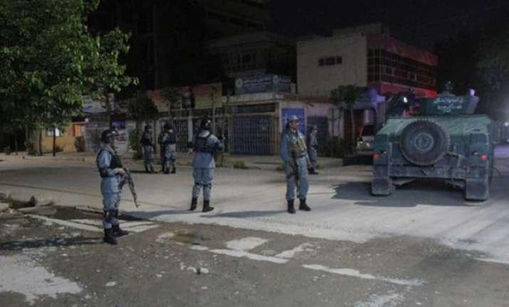 kabul gunmen storm guest house 2 indians among 5 killed