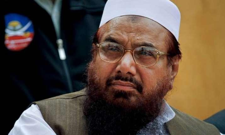 hafiz saeed denies involvement in jnu protest