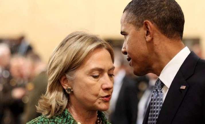 hillary clinton breaks with barack obama on arctic oil