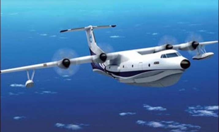 china builds world s largest amphibious aircraft