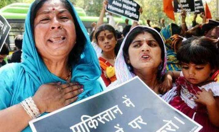 pak hindus demand dual voting rights for non muslims