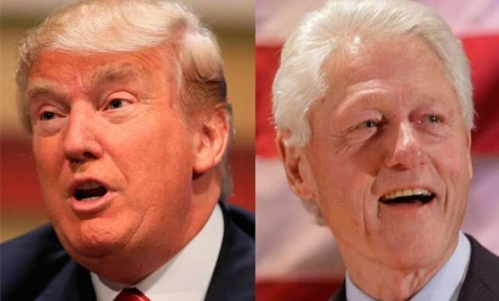 bill clinton greatest woman abuser of all time donald trump
