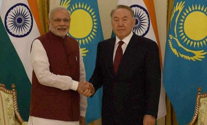 india kazakhstan sign five key agreements to bolster ties