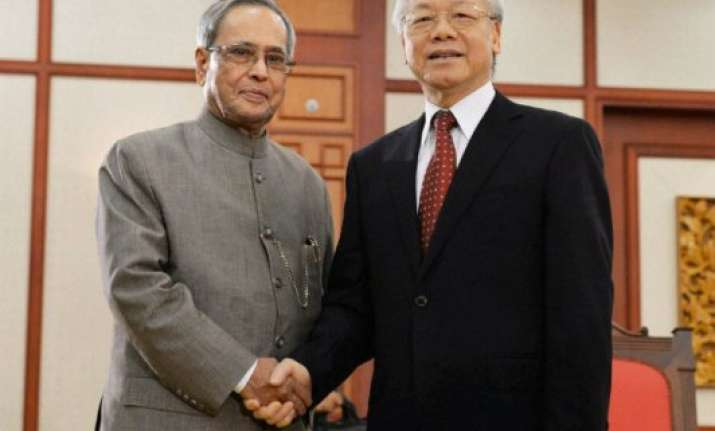 pranab mukherjee india vietnam ties are infinite