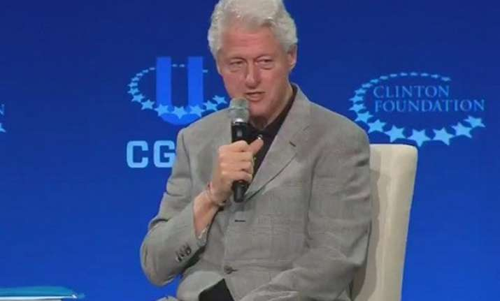 bill clinton defends his foundation says no wrongdoings