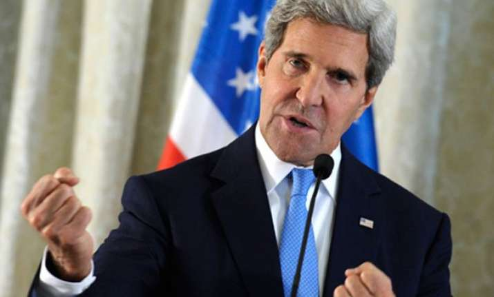 john kerry reaffirms us security commitment to south korea